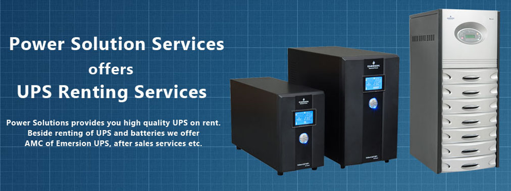 Online UPS on Rent